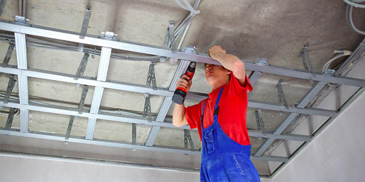 Zoom sur le métier de poseur de faux plafond
